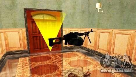 PKM Black for GTA San Andreas sixth screenshot