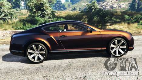 Bentley Continental GT 2012 [replace] for GTA 5