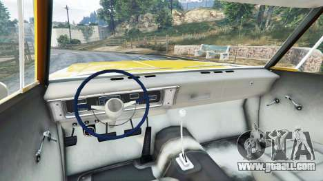 GTA 5 Plymouth Belvedere 1965 Taxi [replace] right side view