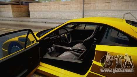 Ferrari F40 (EU-Spec) 1989 IVF for GTA San Andreas inner view