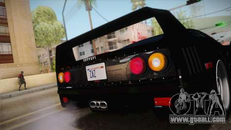 Ferrari F40 (US-Spec) 1989 IVF for GTA San Andreas right view