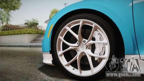 Bugatti Chiron 2017 for GTA San Andreas back left view