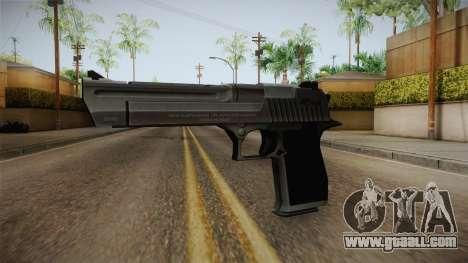 Counter Strike: Source - Desert Eagle for GTA San Andreas second screenshot
