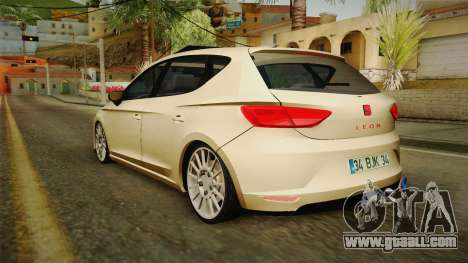 Seat Leon FR for GTA San Andreas left view