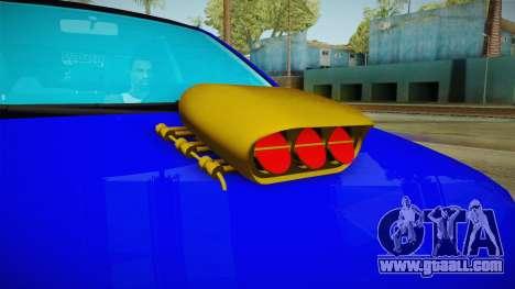 Dacia Logan Stance Haur Edition for GTA San Andreas inner view