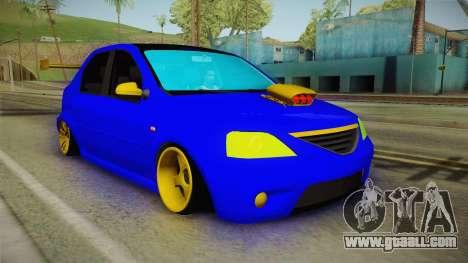 Dacia Logan Stance Haur Edition for GTA San Andreas right view