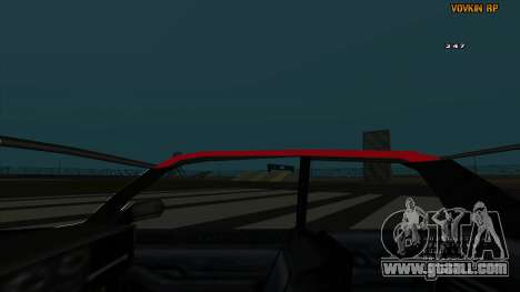 Sultan Kaefoon for GTA San Andreas side view