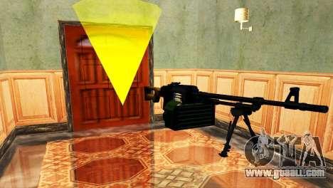 PKM Black for GTA San Andreas fifth screenshot