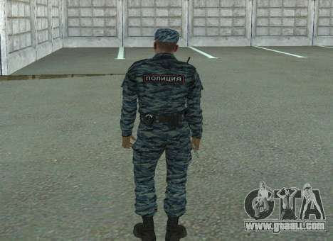 Riot policemen (summer) for GTA San Andreas third screenshot