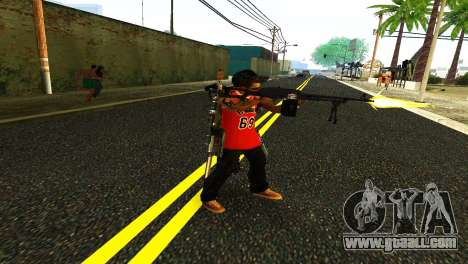PKM Black for GTA San Andreas second screenshot