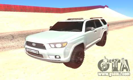 Toyota 4Runner for GTA San Andreas right view