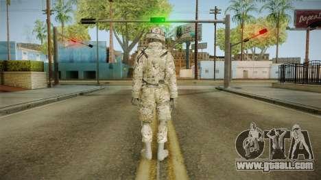 Multicam US Army 3 v2 for GTA San Andreas third screenshot