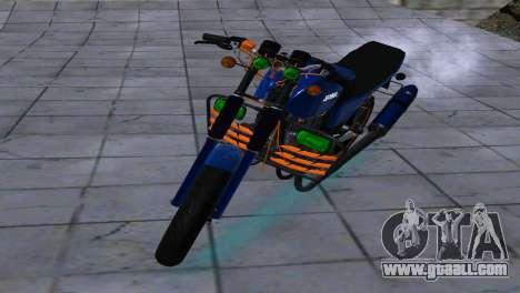 JAWA 350-638 SPORTS AMG for GTA San Andreas left view
