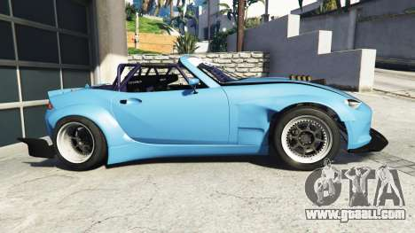GTA 5 Mazda MX-5 (ND) RADBUL v1.1 [replace] left side view
