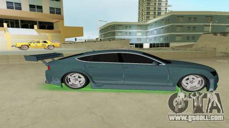 AUDI A7 SPORTS for GTA Vice City left view
