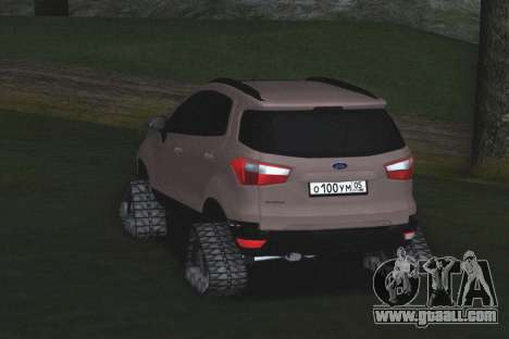 Ford Ecosport Off-Road for GTA San Andreas right view