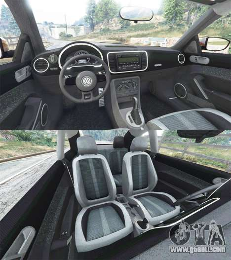 GTA 5 Volkswagen Beetle Turbo 2012 [replace] rear right side view