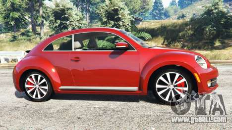 GTA 5 Volkswagen Beetle Turbo 2012 [replace] left side view