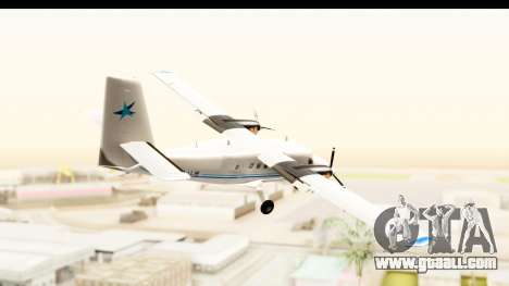 DHC-6-400 Zimex Aviation for GTA San Andreas right view