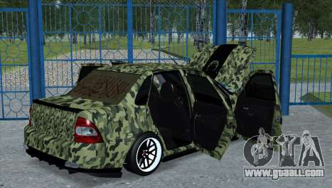 Lada Priora Style for GTA San Andreas left view