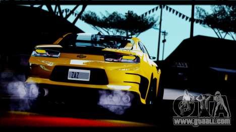 Chevrolet Camaro SS 2016 Bumblebee TF 5 for GTA San Andreas right view