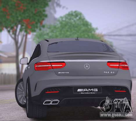 Mercedes-Benz GLE AMG for GTA San Andreas right view