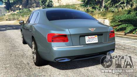 GTA 5 Bentley Flying Spur [add-on] rear left side view