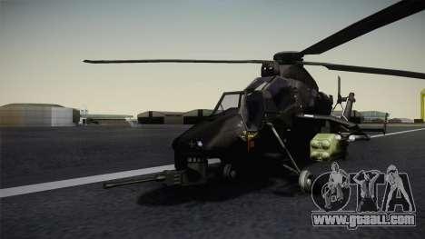 Eurocopter Tiger for GTA San Andreas