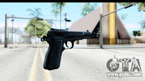 Browning Hi-Power for GTA San Andreas second screenshot