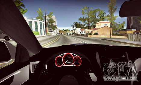 Subaru Impreza WRX STI Police for GTA San Andreas inner view