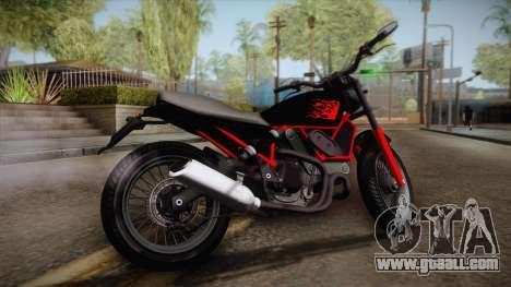 GTA 5 Pegassi Esskey PJ1 for GTA San Andreas left view