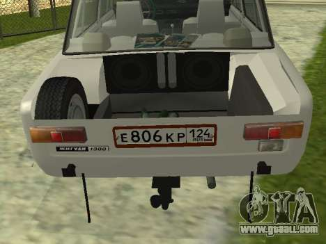 VAZ 21013 124RUSSIA for GTA San Andreas back view