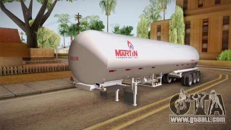 Trailer Americanos v3 for GTA San Andreas