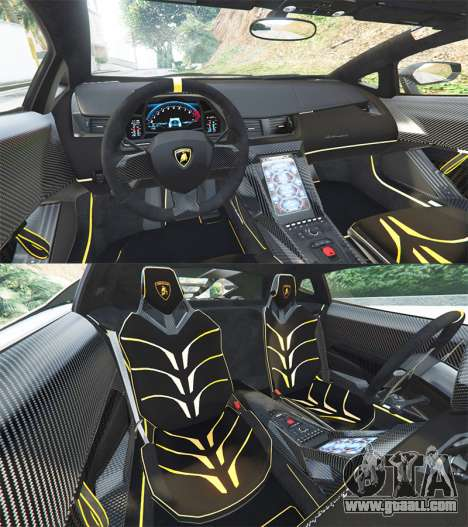 GTA 5 Lamborghini Centenario LP770-4 2017 [add-on] rear right side view