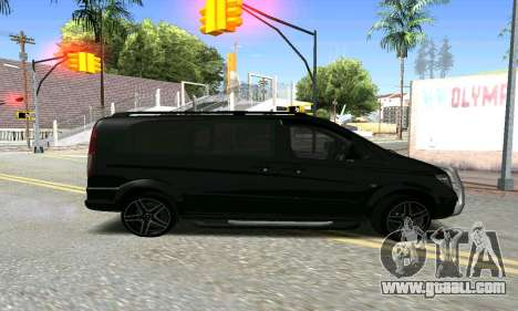 Mercedes-Benz Vito for GTA San Andreas left view