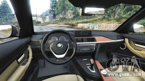 GTA 5 BMW 335i GT (F34) [add-on] right side view