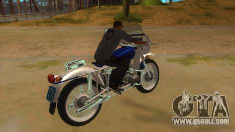 Ural Police for GTA San Andreas right view