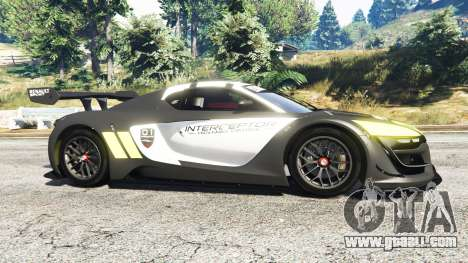 GTA 5 Renault Sport RS 01 2014 Police Interceptor [r] left side view
