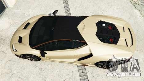 GTA 5 Lamborghini Centenario LP770-4 2017 v1.3 [r] back view