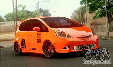 Honda Fit 2009 Rocket Bunny for GTA San Andreas