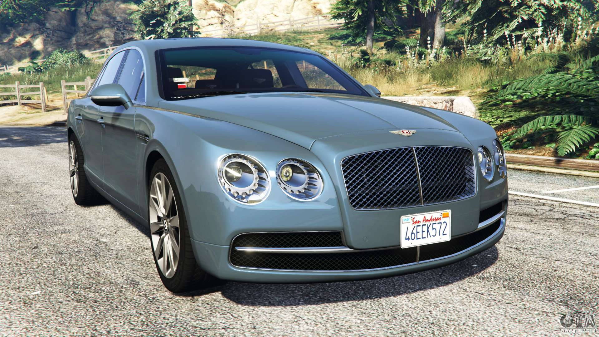 bentley flying spur add on for gta 5. Black Bedroom Furniture Sets. Home Design Ideas