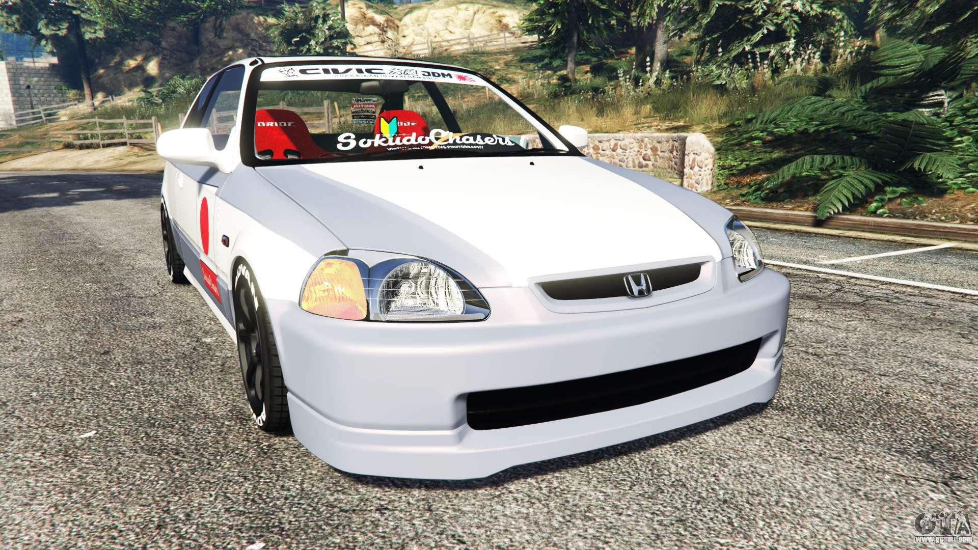 Honda Civic Ek9 Kanjo Edition Replace For Gta 5