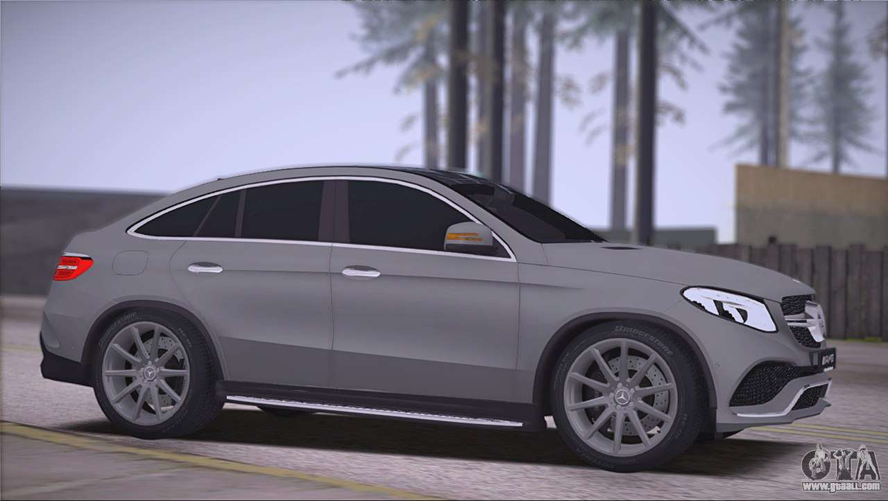 Mercedes benz gle amg for gta san andreas for Amg mercedes benz suv