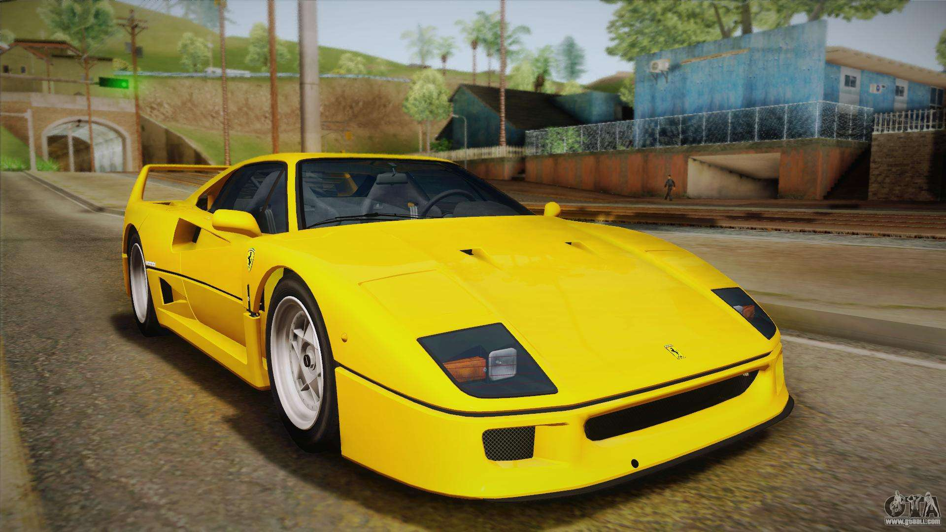 Ferrari f40 eu spec 1989 ivf for gta san andreas vanachro Image collections