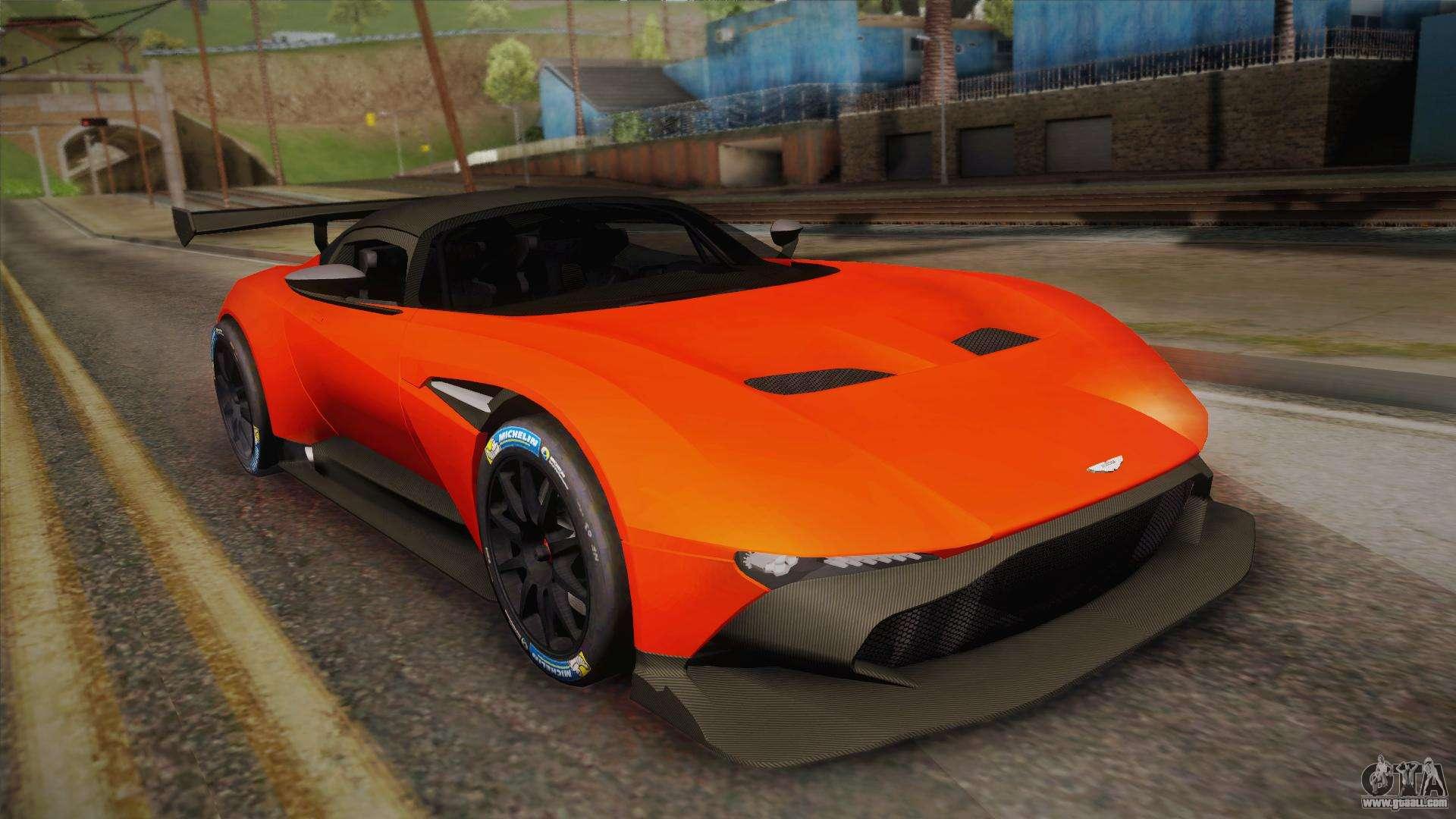 Aston Martin Vulcan For Gta San Andreas