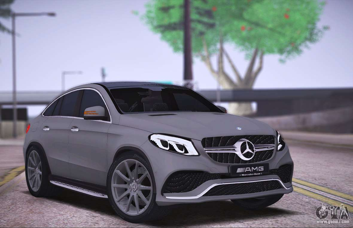 mercedes benz gle amg for gta san andreas