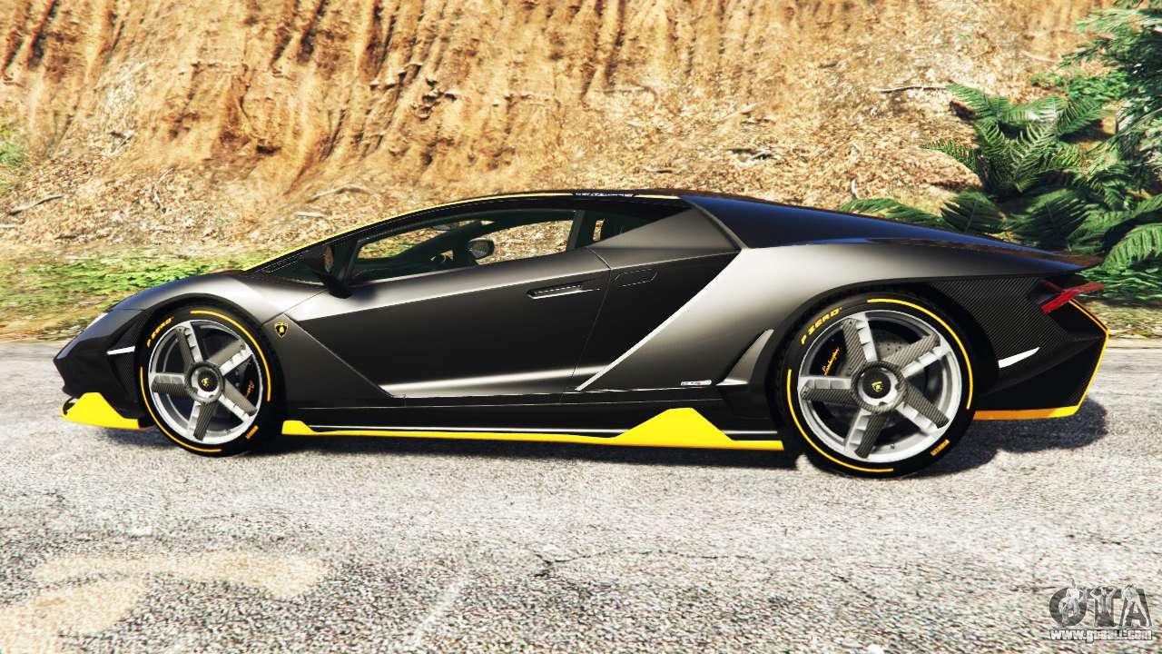 Lamborghini Centenario Lp770 4 2017 Add On For Gta 5
