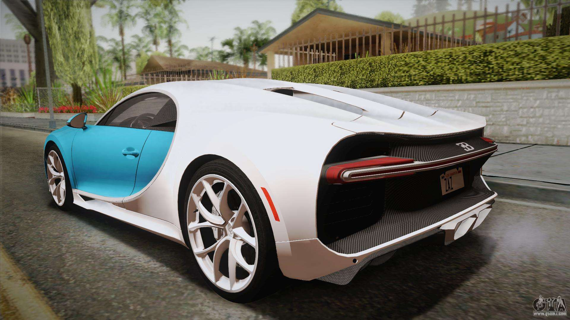 bugatti chiron 2017 for gta san andreas. Black Bedroom Furniture Sets. Home Design Ideas