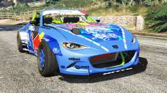 Mazda MX-5 (ND) RADBUL Mad Mike [replace] for GTA 5