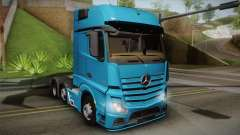 Mercedes-Benz Actros Mp4 6x2 v2.0 Gigaspace